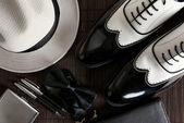 Mafia Shoes — Stock Photo