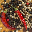 Dry pepper — Stock Photo #10474545