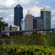 Jacksonville, Florida skyline — Stock Photo