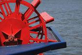 Riverboat Paddle Wheel — Stock Photo