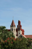 Historic downtown St Augustine Florida — Stock Photo