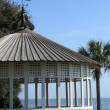 Gazebo on the Georgia coast — Stock Photo