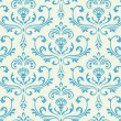 Classic floral seamless ornate background. — Stock Vector