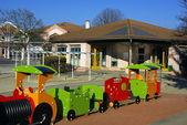 école maternelle dans le Sud de la France — Stock Photo