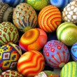 Multicolored eggs — Stock Photo
