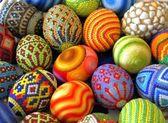 Multicolored eggs — Fotografia Stock