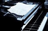 音楽的な静物画 — ストック写真