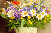 Lovely ikebana — Stock Photo