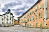 Old noble architecture in Stockholm. — Stock Photo