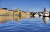 Stockholm view in summer. — Stock Photo