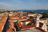 Cidade de zadar, croácia. — Fotografia Stock