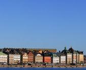Skeppsbron, sztokholm. — Zdjęcie stockowe