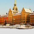 Stockholm Old Town in winter. — Stock Photo #10537733