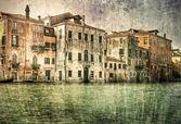 Oude architectuur op canal grande in venetië, italië. — Stockfoto