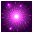 Purple Vector Background — Stock Vector