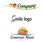 Vector logos — Stock Vector