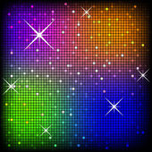 Colorful Disco Vector Background — Stock Vector