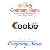 Vector Logotype Elements — Stock Vector