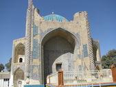 зеленая мечеть — Стоковое фото