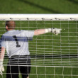 Soccer goalkeeper — Stock Photo #9860092