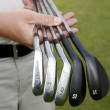 Golf clubs — Stock Photo #9860343