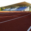 Athletics stadium — Stock Photo #9860378