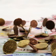 Euro money — Stock Photo #9860420