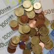 Euro money — Stock Photo #9860425