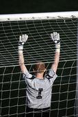 Soccer goalkeeper — Stock Photo