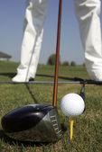 Golf tee — Stock Photo