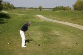 Golf shot — Stock Photo