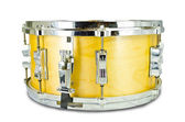 Used snare drum's lug i solated on white background — Stock Photo