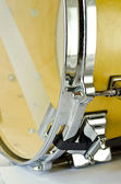 Lug of plywood snare drum — Stock Photo