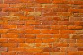 Orange brick wall , nepal — Stock Photo