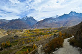 Fantastic view on the way to Muktinath — Stock Photo