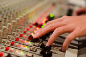 Sound engineer — Stock Photo