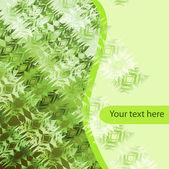 斑驳的绿色背景 — 图库矢量图片