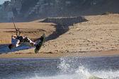 Kitesurfista — Foto Stock