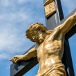 Jesus on a Crucifix - Stock Photo