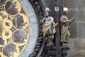 Astronomical clock — 图库照片