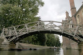 Mathematical Bridge — Foto Stock