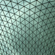 Stock Photo: British Museum roof