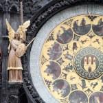 Astronomical clock, — Stock Photo