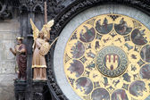 Astronomical clock, — Stockfoto