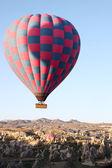 Balloons over Cappadocia — Stock Photo