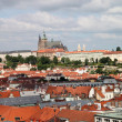 Prague roof tops — Stock Photo