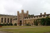 College, em cambridge — Foto Stock