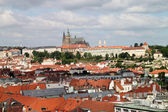Prague roof tops — Foto Stock