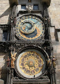 Astronomical clock, Prague — Stockfoto