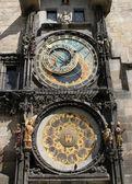 Relógio astronómico, praga — Foto Stock
